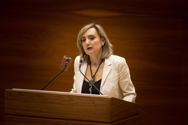 Archivo - La parlamentaria de Navarra Suma Cristina Ibarrola.