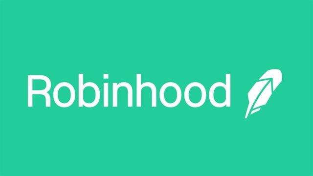 Archivo - Logo de la firma de 'trading' Robinhood.