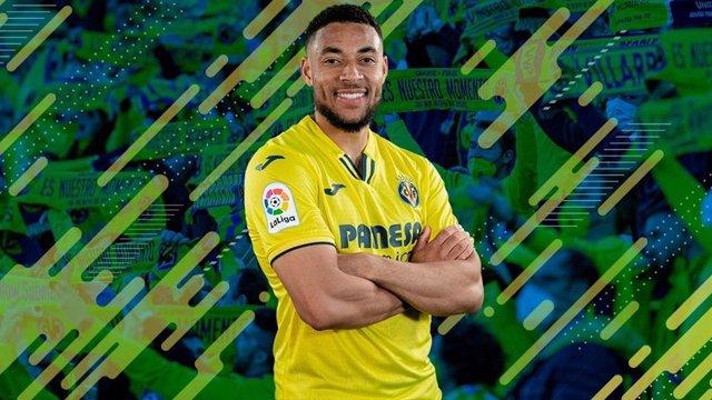 El nuevo jugador del Villarreal CF, el delantero internacional neerlandés Arnaut Danjuma