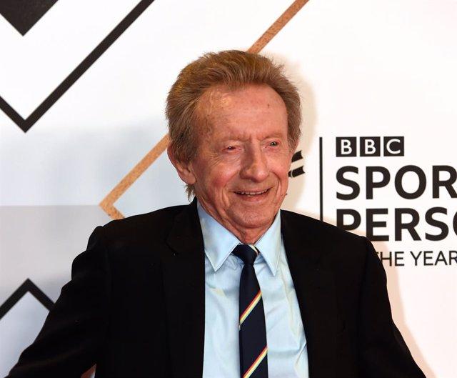 El exjugador escocés Denis Law, en la entrega de premios 'BBC Sports Personality of the Year Award' en The P&J Live