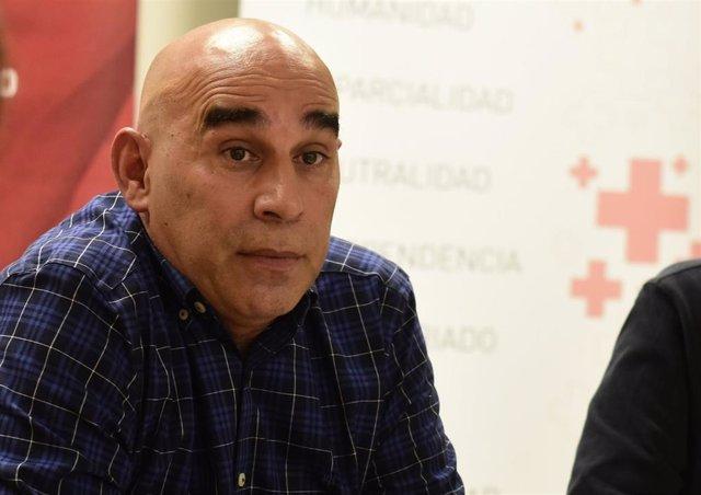El delegado de Cruz Roja Navarra, Antonio Carabante
