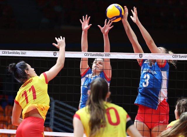 La selección española de voleibol pierde en su debut en el Europeo femenino