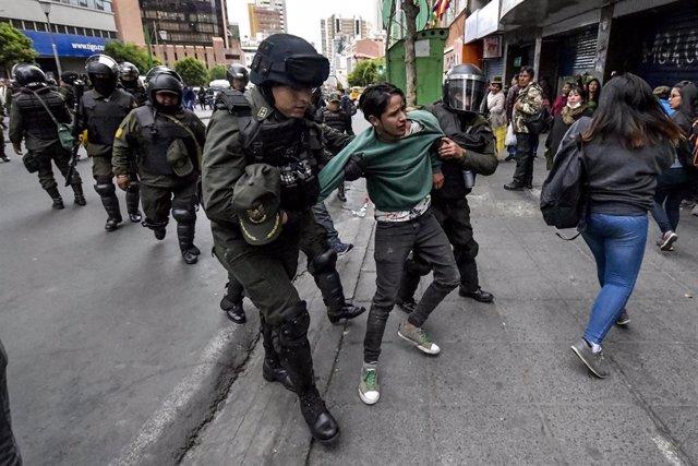 Protestas en Bolivia (imagen de archivo)
