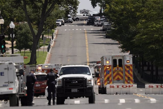Amenaza de bomba en el Capitolio
