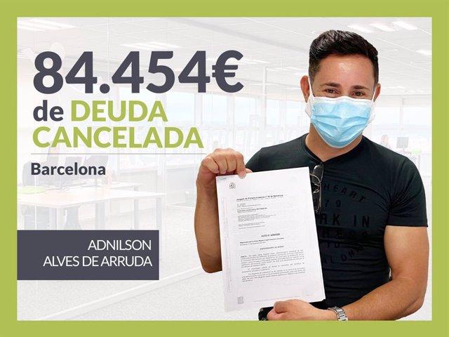 Adnilson Alves de Arruda, exonerado con Repara Tu Deuda