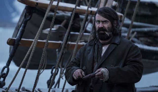 Colin Farrell, un monstruo en el Ártico en La sangre helada, la miniserie que llega en noviembre a Movistar+