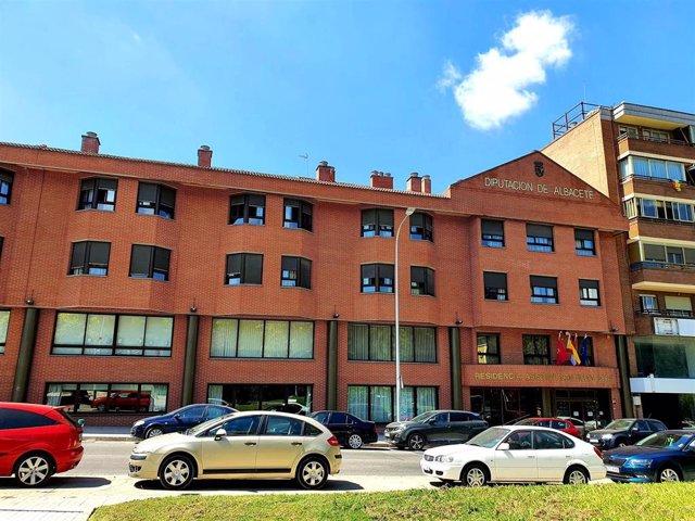 Archivo - Residencia de Mayores 'San Vicente de Paúl' de Albacete.