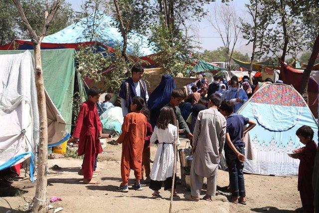 Desplazados internos en Kabul, Afganistán
