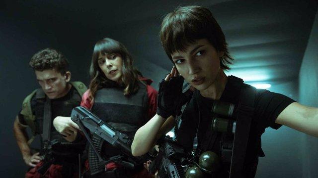 Imagen de la quinta temporada de La Casa de Papel