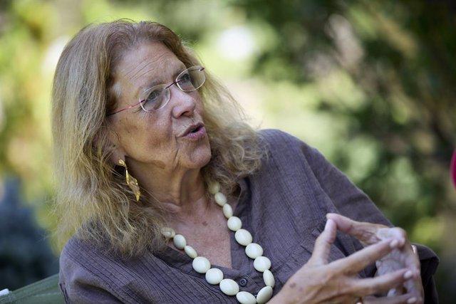 La sotssecretària de Sectorial del PP, Elvira Rodríguez, durant una entrevista amb Europa Press.