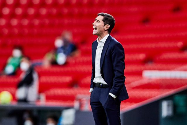 Archivo - Marcelino Garcia Toral, head coach of Athletic Club,during the Spanish league, La Liga Santander, football match played between Athletic Club and Real Madrid CF at San Mames stadium on May 16, 2021 in Bilbao, Spain.