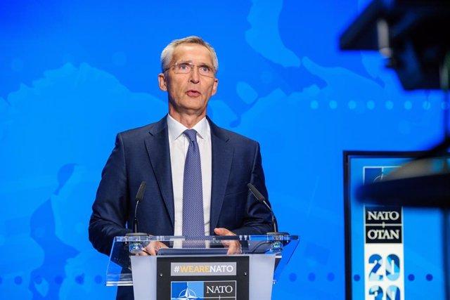 El secretari general de l'OTAN, Jens Stoltenberg