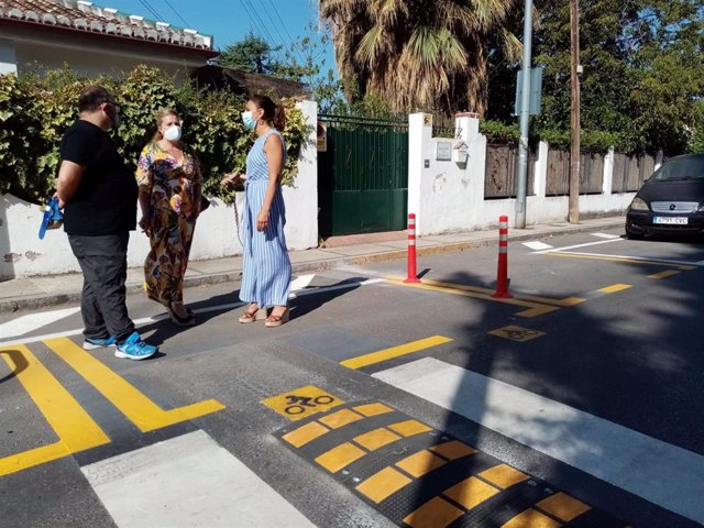 El Ayuntamiento de Granada visita el Paseo de las Palmas