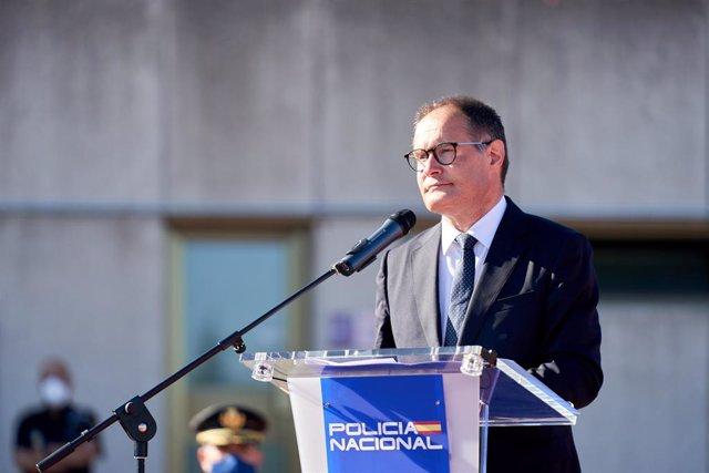 El director ejecutivo de Frontex, Fabrice Leggeri.