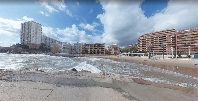 Archivo - Playa del Faro de Cullera