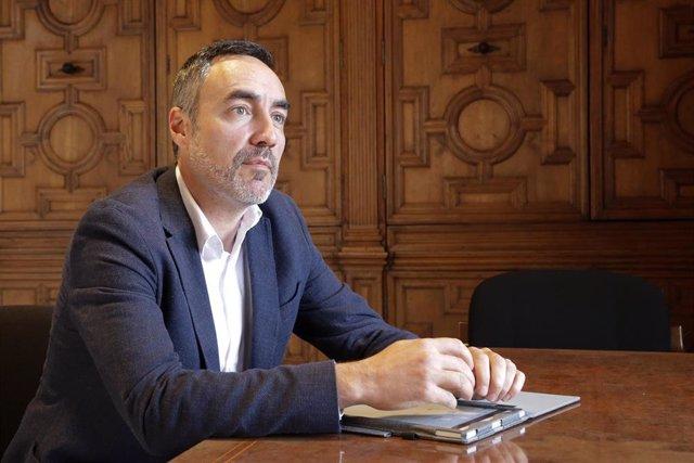 Archivo - El director general de Coordinación de la Acción de Gobierno y responsable de la Oficina Valenciana para la Recuperación, Juan Ángel Poyatos