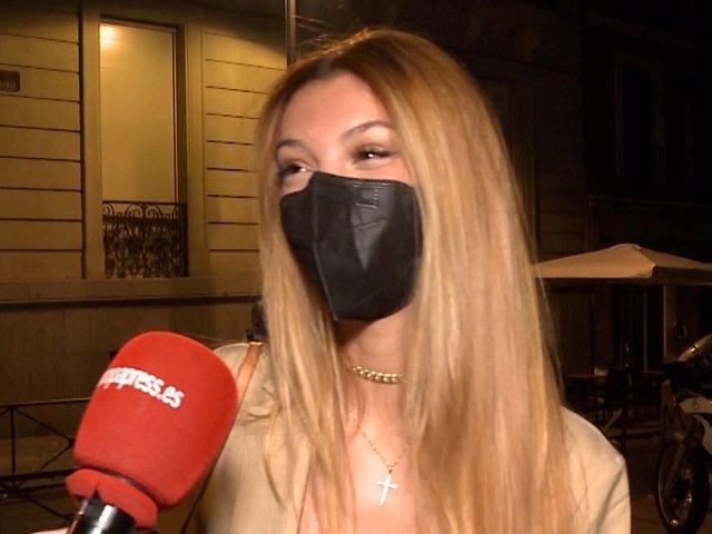 Alejandra Rubio se pronuncia sobre si Suso la escondía en el maletero para salir de su casa.