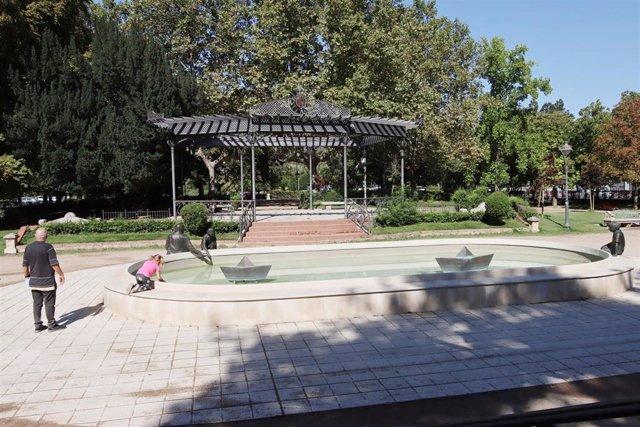 Fuente en Valladolid.