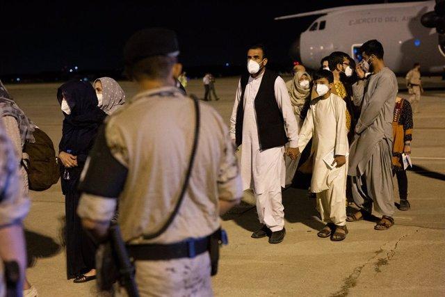Evacuats a l'Afganistan