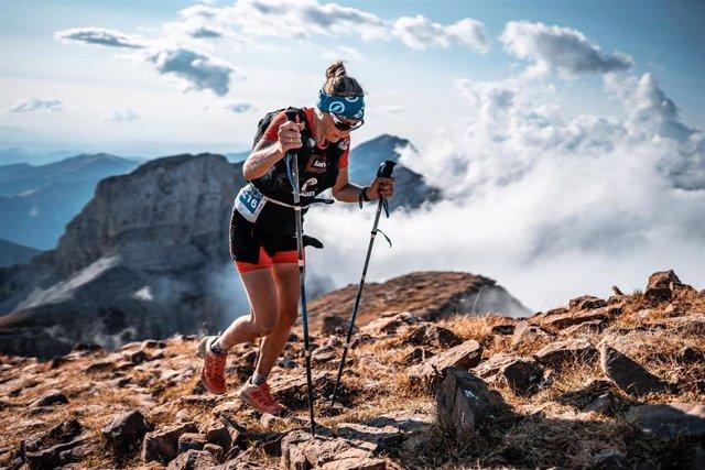 Archivo - La carrera de montaña Canfranc-Canfranc discurre por la dura orografía del Pirineo aragonés.