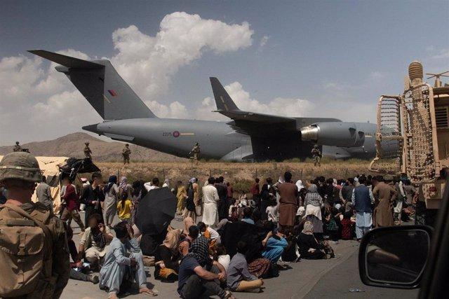 Evacuaciones en Kabul