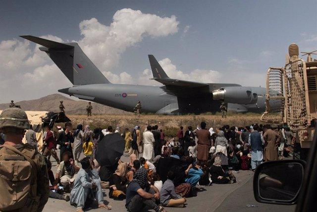Evacuacions a Kabul