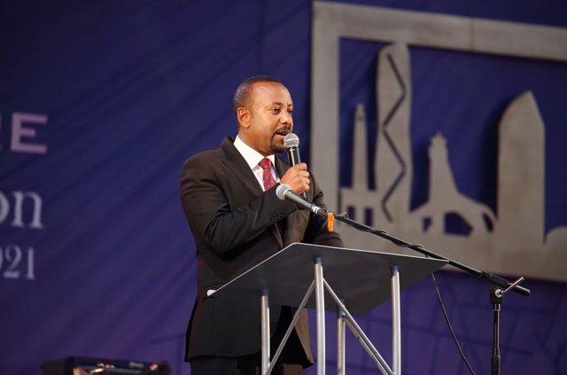 Archivo - Arxivo - El primer ministre d'Etiòpia, Abiy Ahmed
