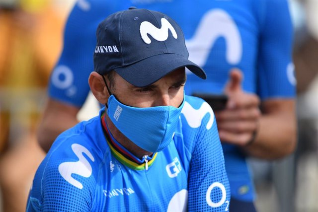 Archivo - Arxivo - El ciclista espanyol Alejandro Valverde (Movistar Team)