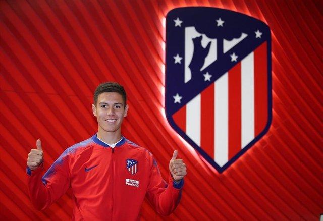 Archivo - Nehuén Pérez Atlético