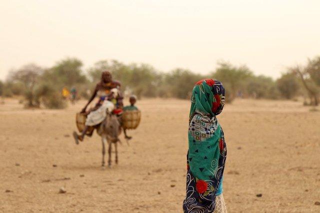 Archivo - Afectados por la violencia de Boko Haram en Chad