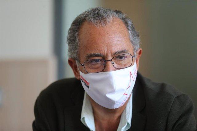 Imagen de archivo del consejero de Educación, Universidades y Ciencia y portavoz de la Comunidad de Madrid, Enrique Ossorio.