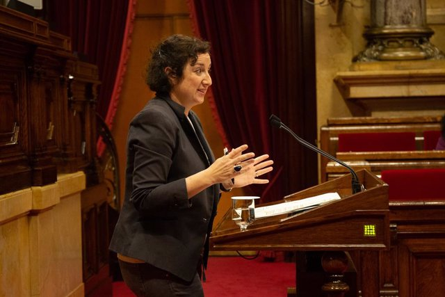 Archivo - Arxivo - La portaveu adjunta del PSC en el Parlament, Alícia Romero