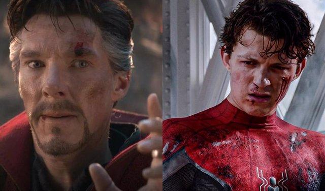 Filtradas imágenes de Spider-Man: No Way Home con Doctor Strange de Benedict Cumberbatch y Tom Holland