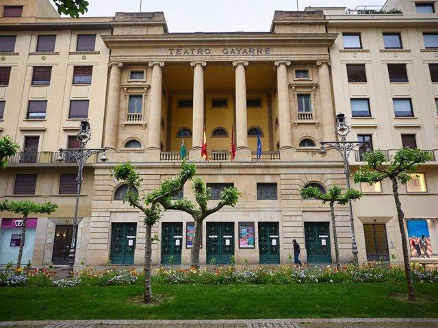 Archivo - El Teatro Gayarre.