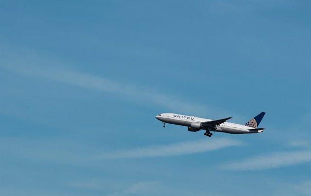 Archivo - Arxivo - Vol d'United Airlines