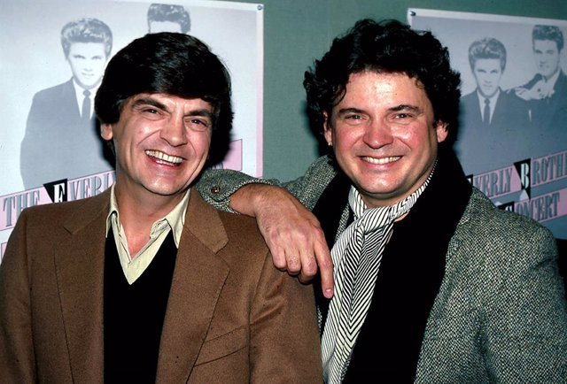 Phil y Don Everly, de los Everly Brothers