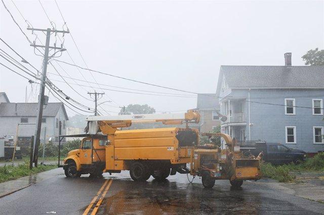 Impacto de la tormenta tropical 'Henri' en la costa este de Estados Unidos