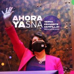 La candidata presidencial de la coalición Unidad Constituyente a las elecciones de noviembre de 2021