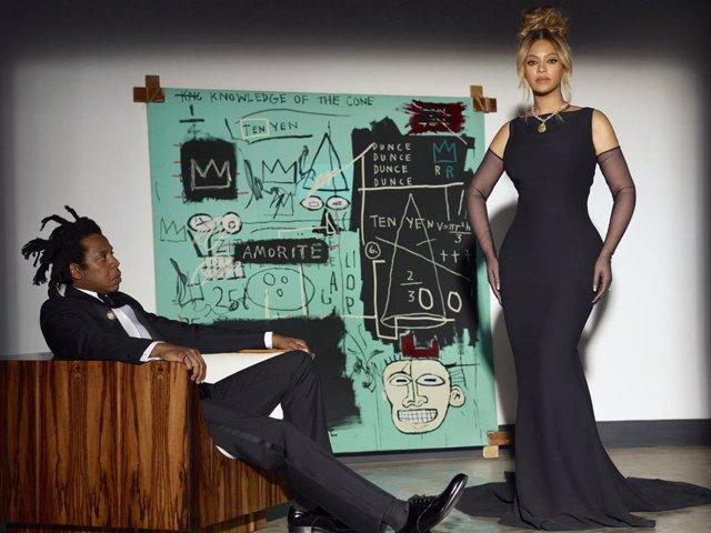 """Archivo - Beyoncé y Jay-Z protagonizan """"About love"""", la nueva campaña de la marca de joyería Tiffany & Co."""
