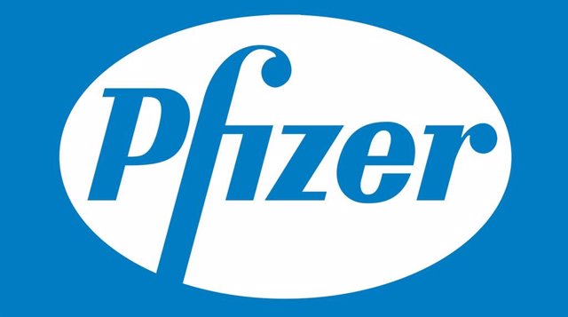 Archivo - Logo Pfizer