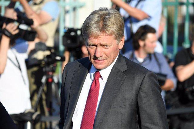Archivo - Dimitri Peskov, portavoz de la Presidencia de Rusia