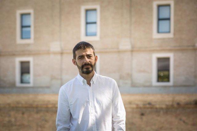 Archivo - El diputado autonómico y coordinador general de IU Aragón, Alvaro Sanz.