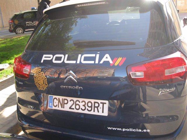 Imagen de recurso de un coche de Policía