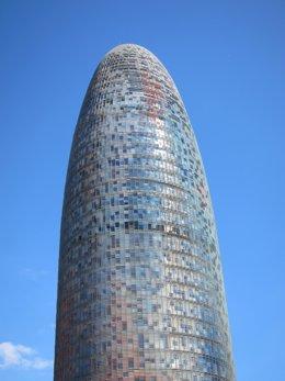 Archivo - Arxiu - La Torre Agbar de Barcelona en una imatge d'arxiu