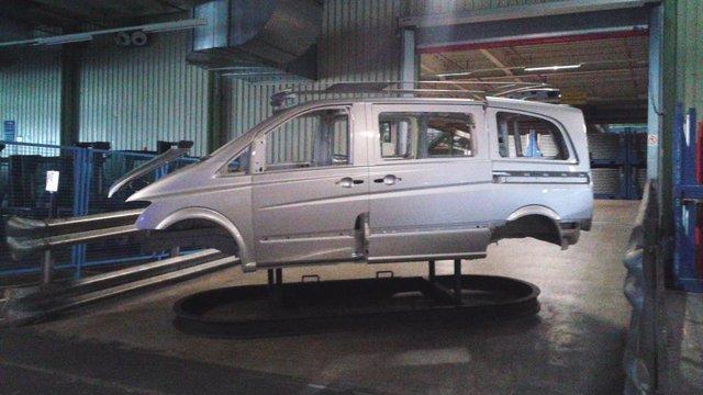 Archivo - Fábrica de Mercedes en Vitoria.