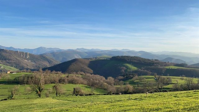 Archivo - Paisaje de Asturias.