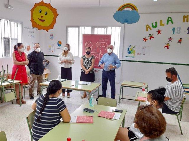 La Viñuela inicia un curso de cocina malagueña para la empleabilidad de colectivos vulnerables