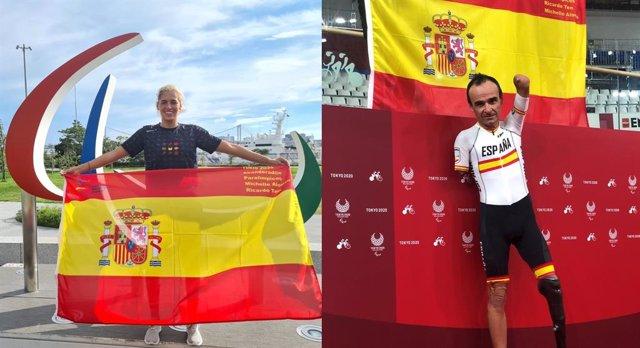 Michelle Alonso y Ricardo Ten, abanderados de España en los Juegos Paralímpicos de Tokio