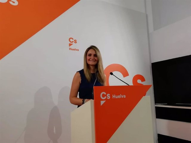 Coordinadora de Cs en Huelva y diputada provincial, María Ponce.