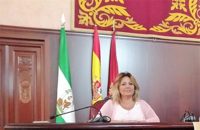 Archivo - Elena Amaya, alcaldesa de Puerto Real